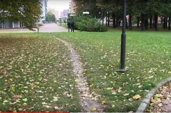 Reportáž: Chodník, kde chodí lidi