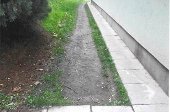 Reportáž: Zřízení chodníku a úprava schodů na ul. J. Skupy