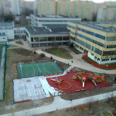 V rámci participativního rozpočtu vzniklo v polském Walbrzychu i toto hřiště.