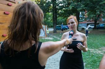 Reportáž: Slavnostní otevření Relaxačního náměstíčka na Slavíkové