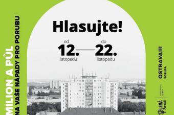 Hlasování v letošním třetím ročníku Zelená Porubě bylo spuštěno!